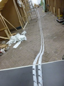16 meters epoxy inlet hose ready to prepare
