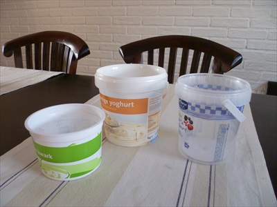 We use a lot of empty buckets for mixing epoxy